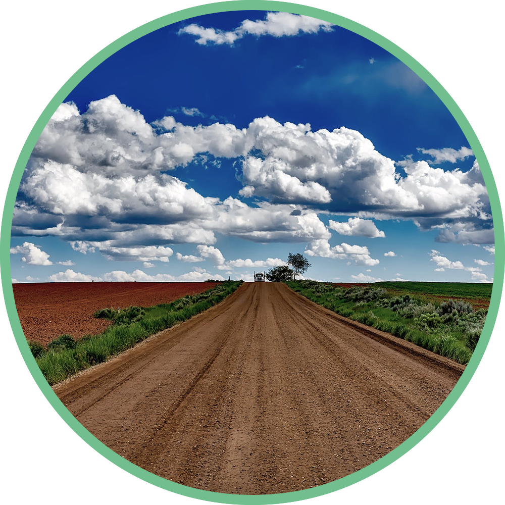 Dirt Road Circle 2
